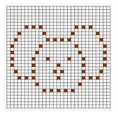 Ravelry: Koala Bobble Chart pattern by Kari Philpott