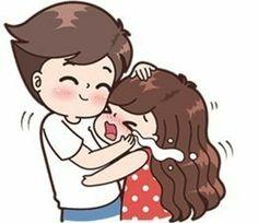 Cute Chibi Couple, Love Cartoon Couple, Cute Couple Comics, Cute Love Cartoons, Cute Love Couple, Anime Love Couple, Cute Anime Couples, Cute Love Pictures, Cute Cartoon Pictures