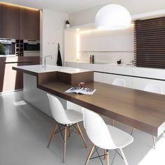 1000 images about idee n voor keuken on pinterest met van and amsterdam - Moderne keukentafel ...