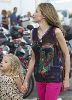Princess Leonor of Spain arrives to the Real Club Nautico de Palma to attend Jaume Anglada's pop concert during the second day of 30th Copa del Rey Mapfre Audi Sailing Cup on August 2, 2011 in Palma de Mallorca, Spain.
