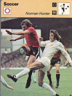 Norman Hunter LEEDS UNITED (Football) 1970s 80s Sportscaster Card | eBay Norman Hunter, Football Cards, Baseball Cards, Leeds United Football, Photo Book, 1970s, The Past, Soccer, History