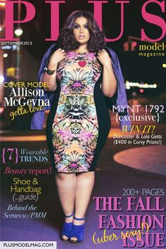 Plus model magazine the pulse of plus size fashion beauty arts and