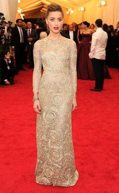 Amber Heard in Giambattista Valli 2014 Met Gala: Rachel's Top 10 Looks | The Zoe Report