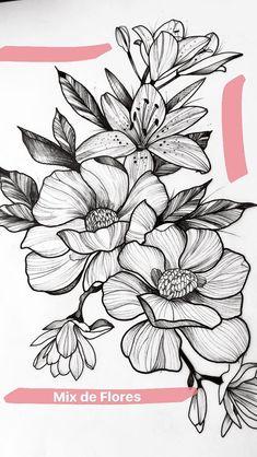 Les 133 Meilleures Images De Fleurs Stylisées Fleurs