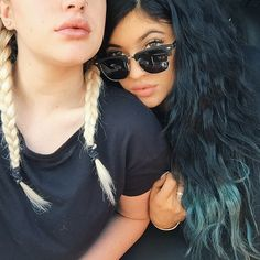 Two cute hairstyles & colors