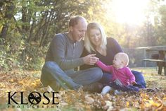 Fall family session.