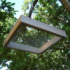 Bird Feeder, Durable Tray Style, Complete With All Hardware And Sunflower Seed