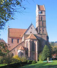 Monastery church Alpirsbach, GErmany