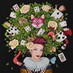 The Queen of Hearts   Limited Edition of 45 & 5 Artist Proofs