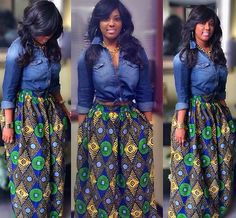 We all know the wonder-working glam power of the amazing Ankara fabric. No fabric can beat the versatility of this unique print.Today, we are featuring beautiful flattering skirts made using Ankara. These styles promise to make you go head over heelsas you would see how Ankara can transform...
