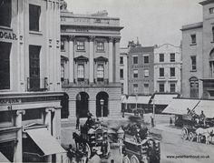 Piccadilly and Regent Street before Piccadilly Circus was formed, circa 1870