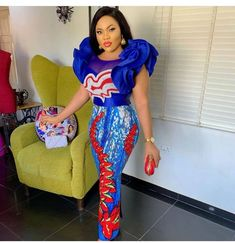 Latest African Casual Dresses : Best Fashion Inspiration to Look AwesomeThese casual outfits have been designed with ageless pattern that bring out the African Lace Styles, Trendy Ankara Styles, Ankara Gown Styles, Ankara Gowns, Ankara Skirt, African Style, Dress Styles, African Party Dresses, African Lace Dresses