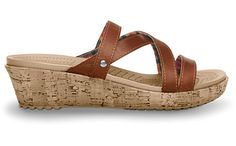 Crocs in a Leather and Cork wedge? Yes Please! Someone needs to get me these for Mother's Day.