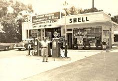 Vintage Shell Station.]
