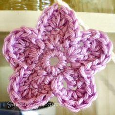 Crocheted Flower Garland Pattern