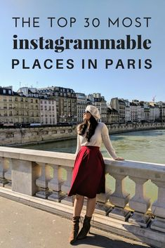 Before heading to Paris last month, I compiled a list of the most instagrammable places in Paris so that I could have all of my photo spots ready. Less time planning while there, more time for taking photos! Since we were there in the wintertime (trust me- it was absolutely freezing), we didn't spend time at Versailles, Luxembourg, or other gardens. But even without these notable spots, the beauty in…