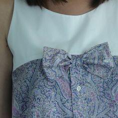 couture chemise d'homme revisité