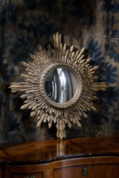"""Solare Mirror by Ebanista 