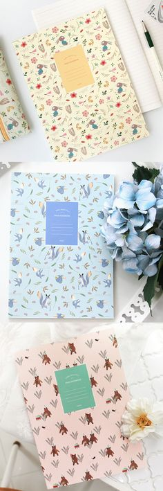 I've chosen the Willow Story Lined Notebook v4 as my notebook for the next quarter! Because it has a lovely and always delightful pattern!