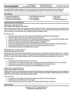 Marketing Sales Executive Executive Resume Sales Resume
