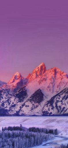 Mountain Sunset Nature Awesome Sky #iPhone #X #wallpaper