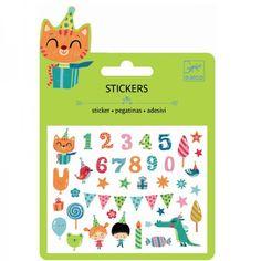 Djeco Mini Stickerset Geburtstag - Bonuspunkte sammeln, Rechnungskauf, DHL…