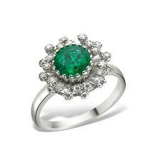 Simobizând floarea dragostei, diamantele se combină perfect cu smaraldul în inelul de logodnă LR00087. Rezultatul este o bijuterie deosebită care aduce cu ea unicitatea momentului cererii în căsătorie.  #engagementring #engagement #perfectring #whitegold  #womanjewellery #jewellery  #ring #diamond #diamondring #diamondjewellery #emerald #emeraldring Heart Ring, Rings, Jewelry, Fashion, Moda, Jewlery, Bijoux, Fashion Styles, Schmuck