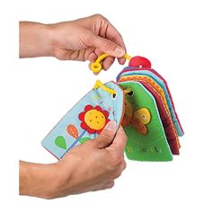 Baby Touch & Feel Flash Cards; Unique Sensory Toy & Travel Toy