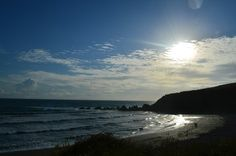 Challaborough Bay beach, Devon, England