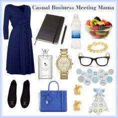 Casual Business Meeting Mama
