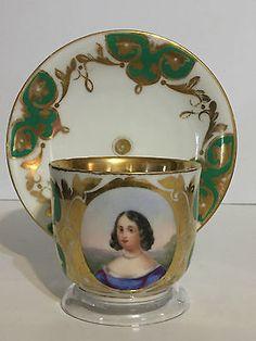 Picture 2 of 12 Vintage High Tea, Antique Tea Cups, Royal Crown Derby, Japanese Porcelain, Gold Paint, Tea Cup Saucer, Portugal, Pottery, Hand Painted