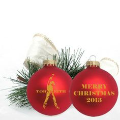 Toby Keith Christmas Ornament