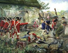 pamela patrick white paintings | Battle of Petersburg-Defending the City by Pamela Patrick White