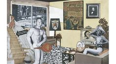 Collage de Richard Hamilton, miroir de la consommation