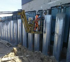 CLL completed piling work at Bunnings, Grey Lynn