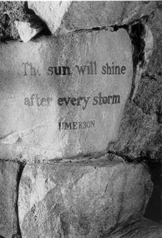 One of the quotes on a stone at the Grove Park Inn