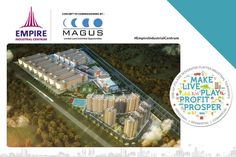35 ACRES OF INDUSTRIAL FLATTED TOWNSHIP AT AMBERNATH.  www.empirecentrum.com
