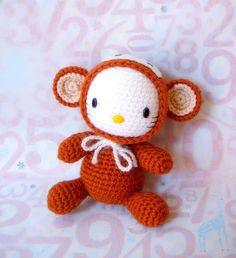 Amigurumi Pattern Zodiac Monkey Kitty Crochet par ZodiacGurumi