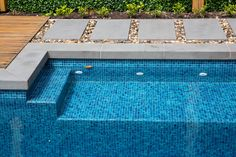 Come check out Armstone's Nulla Bluestone Pavers. Get a quote online today. Bluestone Pavers, Pool Pavers, Outdoor Paving, River Pebbles, Pool Coping, Cool Pools, Trout, Landscape Design, Eco Friendly
