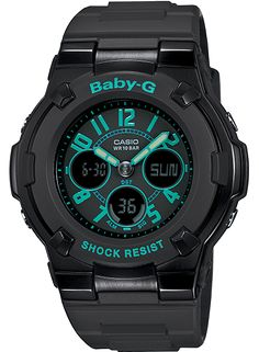 BGA117-1B2 - Baby-G Black - Womens Watches | Casio - Baby-G