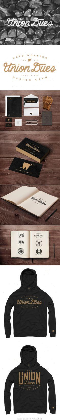 Corporate design logo sketchbook business card letter head envelop sweater hoodie