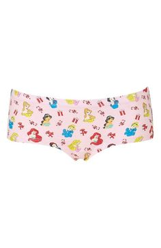 Topshop Disney Princess Boyshorts available at #Nordstrom