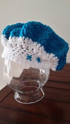 Crochet Hat - Frozen inspired beret