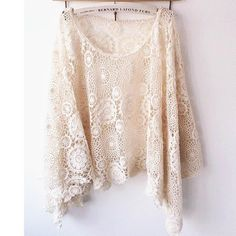 EKOLUV Handmade Crochet Circle Top