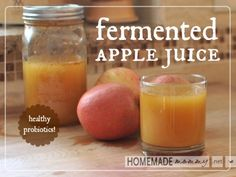Fermented Apple Juice