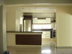 Sala Jantar e Cozinha integrados Gesso Iluminação Pisos Porcelanato Portobello Shop by ALPISA - Alto Padrão Imóveis S.A. (43) 9956.6000, via Flickr