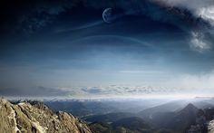 #1641004, sky category - widescreen hd sky