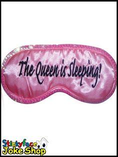 Queen is Sleeping Eye Mask