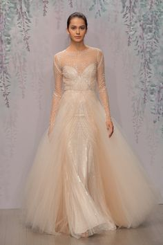 Pin for Later: Bridal Fashion Week's Most Unusual and Unexpected Wedding Dresses Monique Lhuillier
