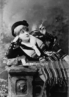 I want to be friends with this lady.  Standard Carmen look.  News Photo : Soprano Emmy Soldene as Carmen in Bizet's opera...